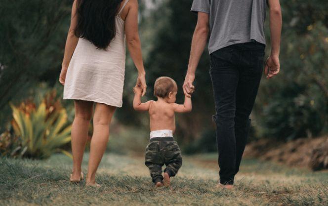 мама, папа и сын