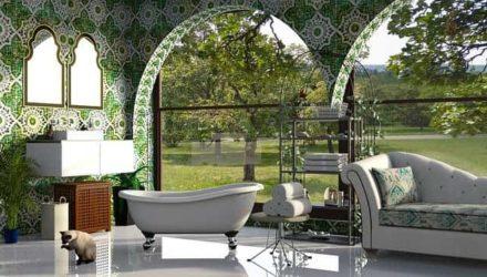 Как украсить ванную комнату… полотенцами